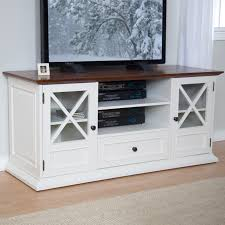 Tv Tables Wood Modern Belham Living Hampton Tv Stand White Oak Hayneedle