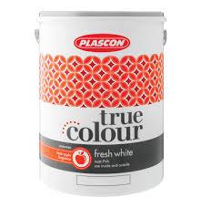 plascon 5l true colour fresh white white lowest prices