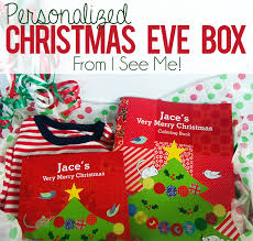 personalized christmas personalized christmas box tradition with i see me giveaway