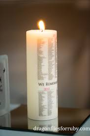 infant loss candles october 15th candlelight vigil