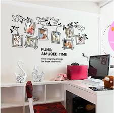 sell home decor ay9136 diy photo frame wall stickers bird hot sell home decor for