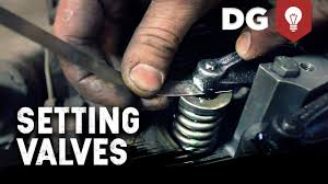 how to set valve lash on a diesel engine youtube