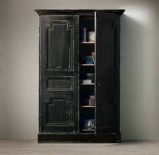 Black Armoire Wardrobe Furniture Armoire Black Wood Armoire Lovable Computer Cabinets For Home