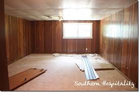 how to paint wood panel house renovation week 12 paint that paneling people southern
