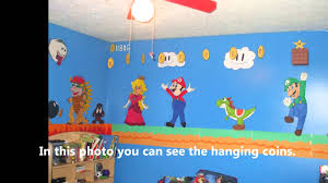 most amazing super mario brothers bedroom ever youtube