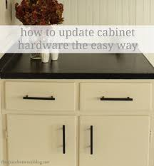 Installing Cabinet Hardware How To Update Cabinet Hardware The Easy Way