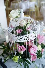 birdcage centerpieces creative idea lovely flower arrangement insider white chic