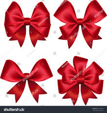 set colorful gift bows vector illustration stock vector 302264816