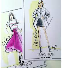 live sketching live fashion illustration u2014 angie réhe