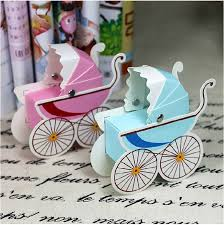 new baby shower baby carriage favor candy box for baby shower newborn birth party