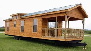 400 Sq Ft Costum Log Cabin on Wheels