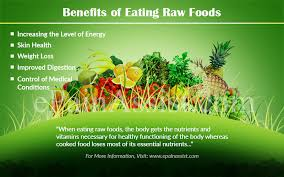 benefits of eating raw food