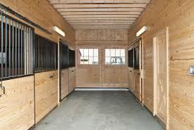 horse barns amish sheds from bob foote white pine modular interiors