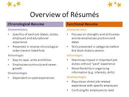 Resume Functional Skills