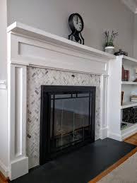 Mantel Bookshelf Transitional Fireplace Redesign With Attached Bookshelf