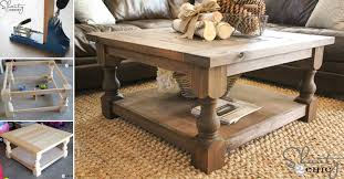 diy square coffee table how to make diy square coffee table diy crafts handimania
