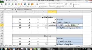 tutorial excel basic excel 2013 tutorial for noobs part 6 basic formulas math functions