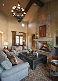Traditional Family Rooms by Decoration Traditional Family Room With Oak Wood Fireplace Mantel