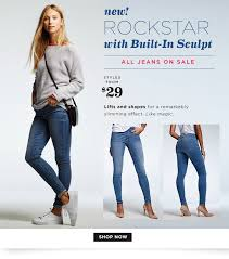 rockstar jeans with built in sculpt the oldnavy com the