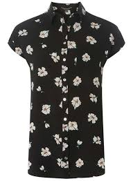 black blouse with white collar blouses shirts white black blouse styles dorothy perkins