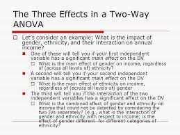 two way anova two way analysis of variance two way anova is