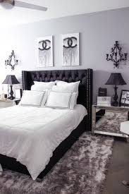 glam bedroom black white bedroom decor chic glam bedroom decor blondie in