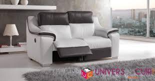 canapé cuir relax électrique photos canapé 2 places relaxation électrique cuir