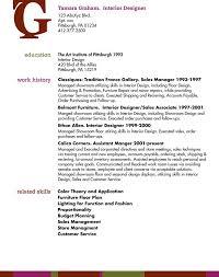 designer resume format interior designer resume msbiodiesel us interior design cover letter informatin design for resume format interior design resume
