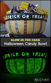 Printable Halloween Candy Coupons by Halloween Candy Bowl A Glow In The Dark Craft