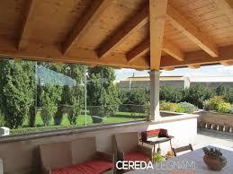 montaggio tettoia in legno tettoia terrazzo cereda legnami agrate brianza
