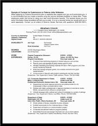Government Jobs Resume Template by Resume For Government Jobs Babysitter Resume Sample Perfect