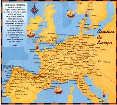 Camino Frances Map by Atlas Of The Camino De Santiago
