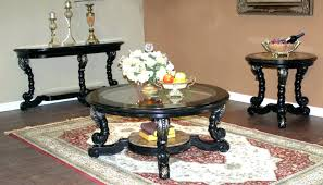 coffee tables astonishing black rectangle oriental painted wood
