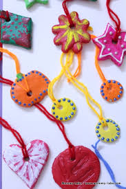 salt dough ornaments artful and easy for