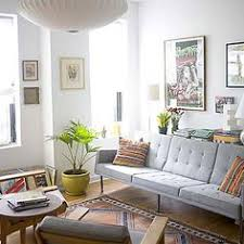 alaina kaczmarski u0027s chicago apartment tour living room grey