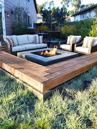 inspirational outdoor fire pit area designs paver patio firepit
