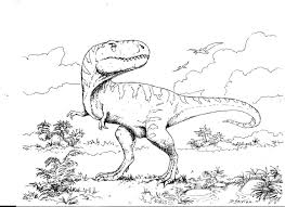outstanding tyrannosaurus rex coloring pages with t rex coloring