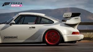 porsche rwb supreme hoonigan car pack coming to forza horizon 3 forza motorsport 7 ign