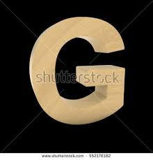 3d brown letter g collection on stock illustration 394628038
