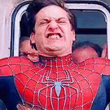 Spiderman Meme Face - spiderman tobey maguire stopping train face find make share
