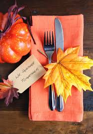 Thanksgiving Table Centerpieces by Table Decorating