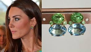 earrings kate middleton kate middleton peridot aguamarina pendientes por dbakerjewelry