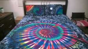 Tie Dye Bed Set Tie Dye Sheets Something To Crave For Home And Textiles