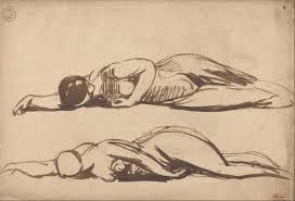 file george romney sketches of a prostrate woman google art