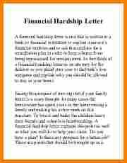 6 sample hardship letter for medical bills simple bill
