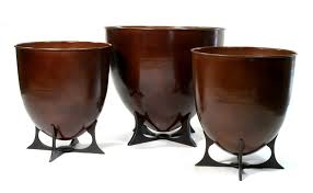 Planter Pots by Planters Urns And Vases Gillberg Design Inc