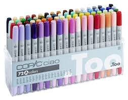 copic markers 72 pen set b copic shop