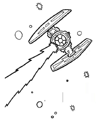 coloring star wars ships coloring pages