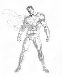 superman sketch mikemaluk deviantart