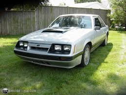 Black Mustang Lx 1985 Ford Mustang Lx Id 5856